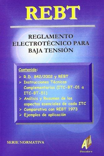Reglamento Electrotécnico para Baja Tensión: Editorial @ becedario Editorial @ ...
