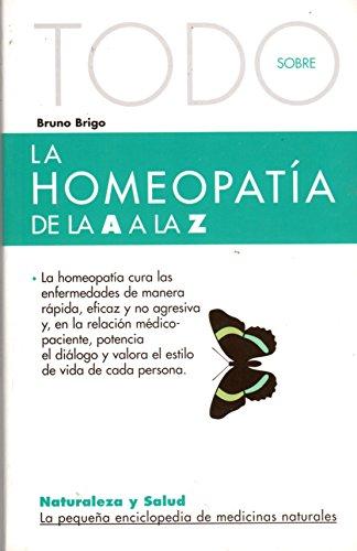9788493303907: La Homeopatia de la A a la Z