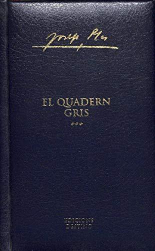 9788493317386: El Quadern Gris