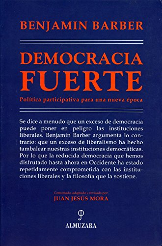 DEMOCRACIA FUERTE (8493337846) by BARBER, BENJAMIN