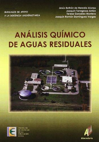 9788493341442: Análisis Químico De Aguas Residuales