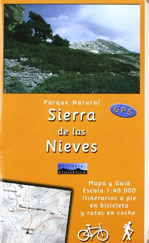 9788493346133: Mapa p.n. Sierra de las Nieves 1:40000