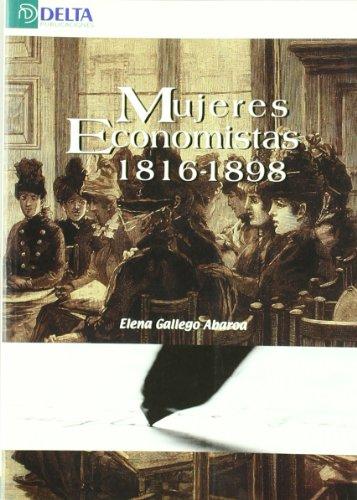 9788493363192: Mujeres economistas 1816-1898 (Ensayos)