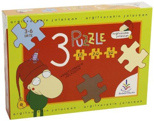 9788493387273: Argitxo * 3 Puzzle (12-20-30) R:91130