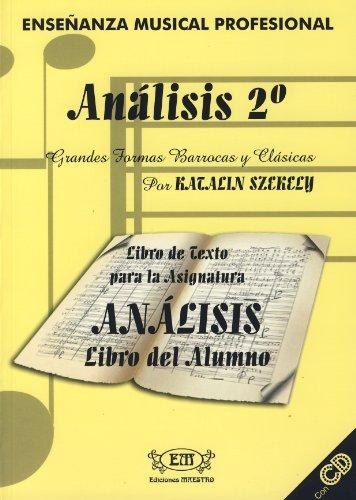 9788493392703: ANALISIS 2º ALUMNO (+CD)
