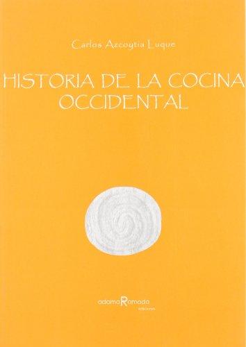 9788493405632: Ha.De La Cocina Occidental
