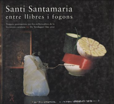 9788493416447: Santi Santamaria entre llibres i fogons