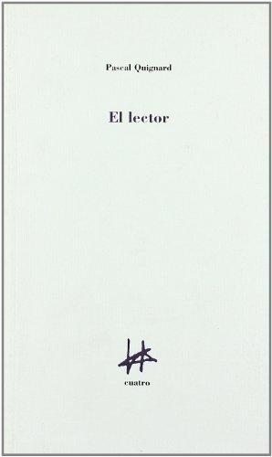 9788493417673: Lector, el