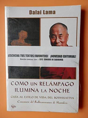 9788493418793: Como Un Relampago Ilumina La Noche + Cd Sonidos De Sabiduria