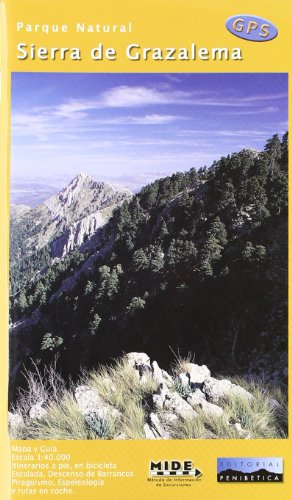 Sierra De Grazalema Mapa.9788493444945 Mapa Parque Natural Sierra De Grazalema