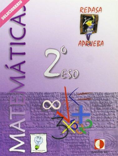 9788493446147: REPASA Y APRUEBA, MATEMÁTICAS, 2 ESO. LIBRO DEL PROFESOR