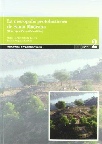 9788493469870: Necropolis protohistorica de santamadrona, riba roja d'ebre
