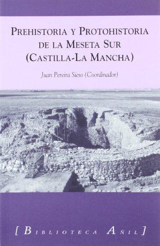 9788493485856: Prehistoria y protohistoria de la meseta sur (Castilla-la Mancha)