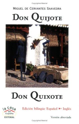 9788493496012: Don Quijote / Don Quixote (Bilingual Book & Audio CD) (Spanish and English Edition)
