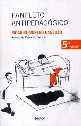 9788493502010: Panfleto antipedagógico (Discrepancias)