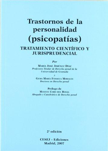 9788493521660: TRANSTORNO DE LA PERSONALIDAD (PSICOPATIAS).