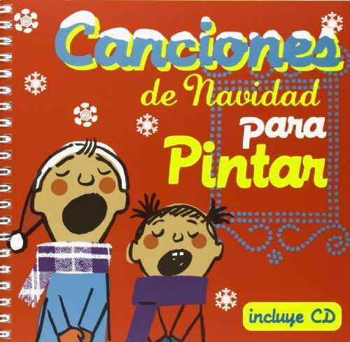 9788493529710: Canciones de navidad para pintar (Cancioneros)
