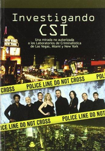 9788493537074: Investigando CSI