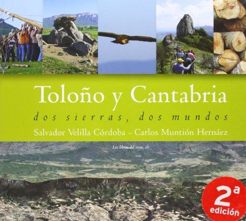 9788493537630: Toloño y Cantabria - dos sierras, dos mundos