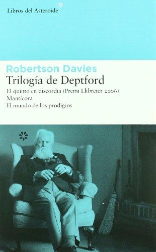 Trilogía de Deptford El quinto en discordia.: Davies, Robertson