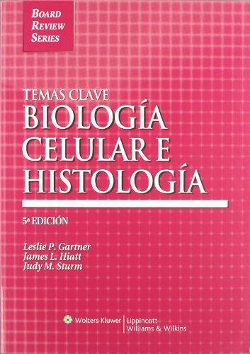9788493558338: Temas Clave: Biologia celular e histologia (Board Review Series) (Spanish Edition)