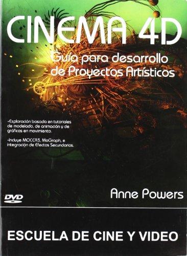 9788493576981: CINEMA 4D:GUIA PARA DESARROLLO PRODUCTOS ARTISTICOS (CD-ROM)