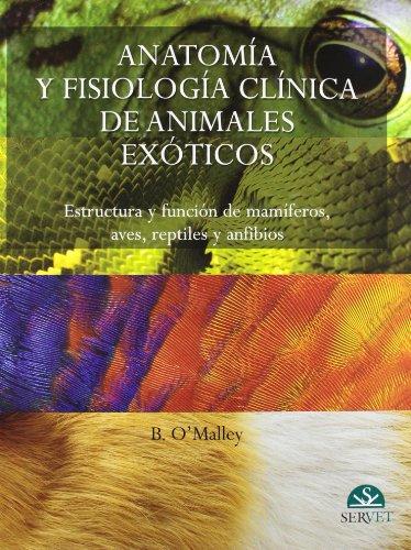 9788493597115: Anatomía y fisiología clínica de animales exóticos