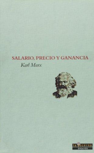 9788493607609: Salario, Precio Y Ganancia (Ensayos)