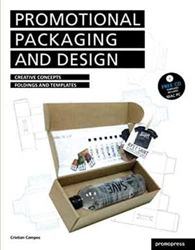 9788493650810: Promotional Packaging and Design: Creative Concepts, Foldings, and Templates