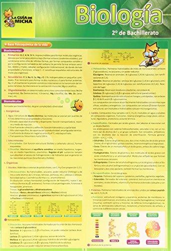 9788493664008: La Guía de Micha: Biología 2º de Bachillerato (Guia De Micha) - 9788493664008