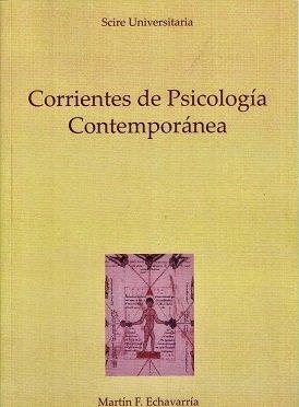 9788493664244: Corrientes de psicologia contemporanea,