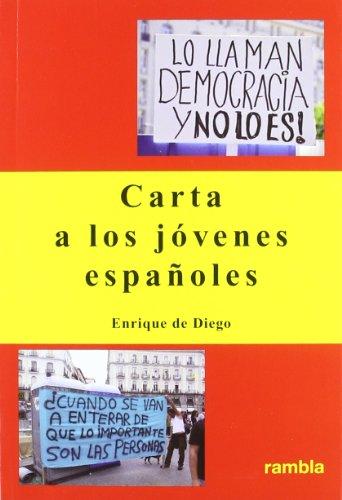 Carta a los jóvenes españoles: Diego, Enrique de