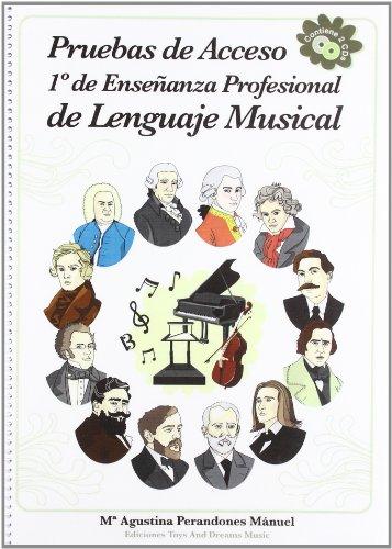 9788493706401: Pruebas de acceso a 1 de enseñanza profesional de lenguaje musical