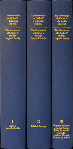9788493708313: Los inventarios de Carlos V y la familia imperial = The inventories of Charles V and the imperial family