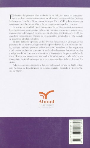 Monjas y conventos en Castilla la Nueva.: Juliana Beldad Corral