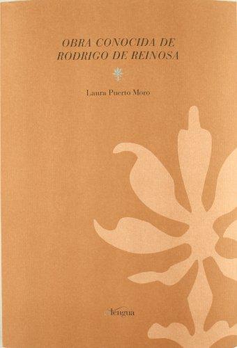 9788493736071: Obra Conocida de Rodrigo de Reinosa