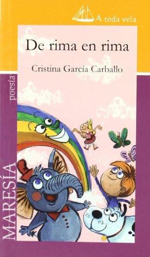 9788493783396: De rima en rima (A Toda Vela (maresia))