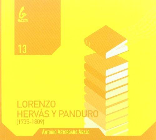 9788493789022: Lorenzo Hervás y panduro (1735-1809)