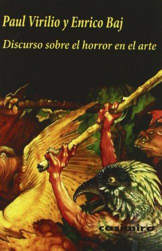 9788493837518: Discurso Sobre el Horror en el Arte