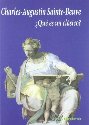 9788493837587: Que Es Un Clasico (Historia (casimiro))