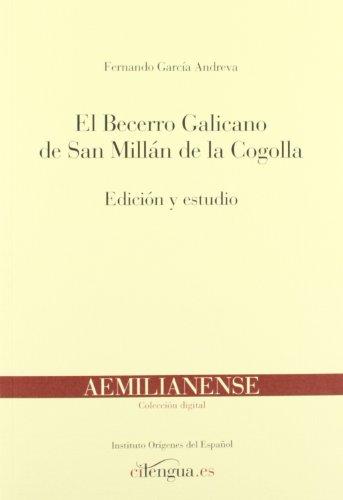 9788493839536: BECERRO GALICANO, EL