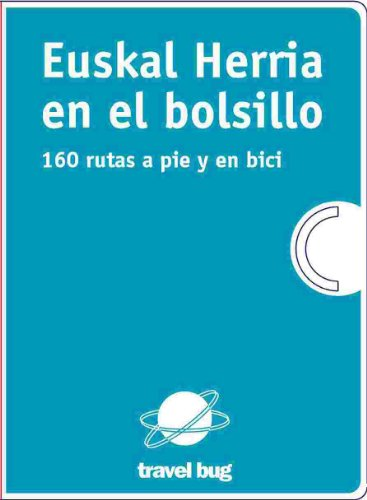 9788493841300: (pack) euskal herria en el bolsillo 2-160 rutas a pie y en bici (E.H. En El Bolsillo)