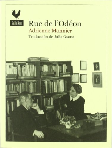 9788493856847: Rue De L'Odéon (Narrativas)