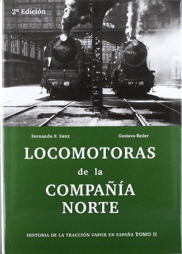 9788493860837: Locomotoras de la compañia norte