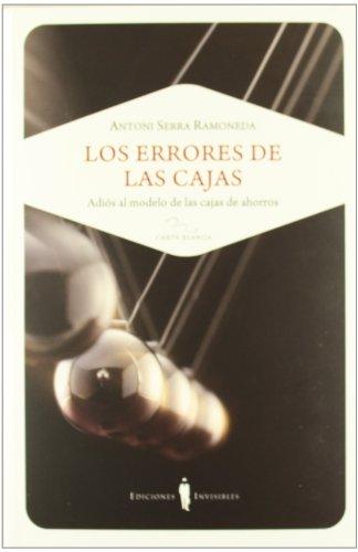 9788493910648: Los Errores De Las Cajas (Carta blanca)