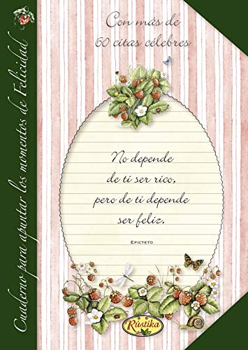 9788493925567: Cuaderno para apuntar los momentos de felicidad