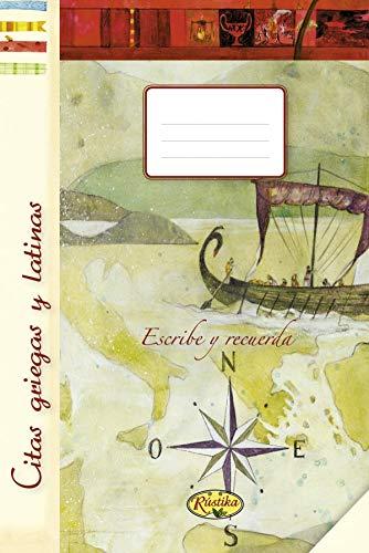 9788493934309: Citas Griegas Y Latinas (Escribe y recuerda)