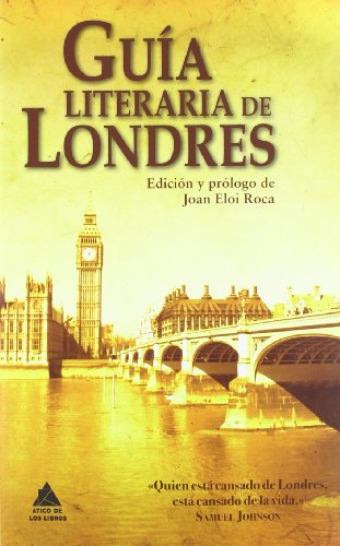 9788493971922: Guía literaria de Londres / Literary Guide to London (Spanish Edition)