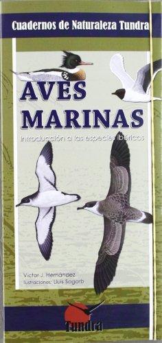 9788493989026: Aves Marinas (Tríptico). Cuadernos De Naturaleza