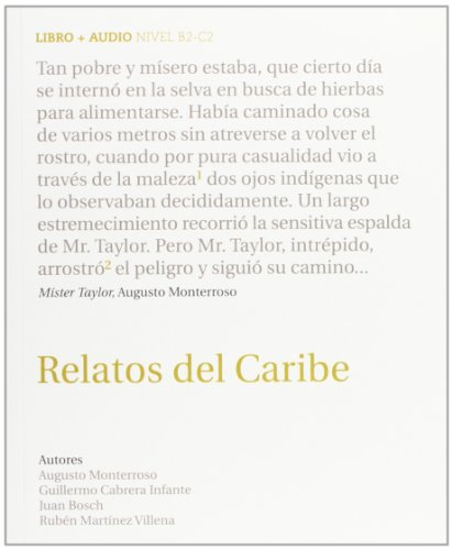 9788493991111: Coleccion Audiolibros (Book & CD): Relatos Del Caribe + CD (Spanish Edition)